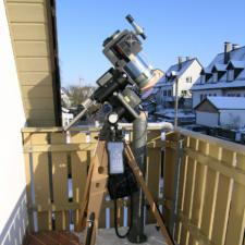 Newton-Astrograph auf GM1000 HPS
