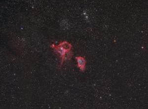 IC 1805 + IC 1848