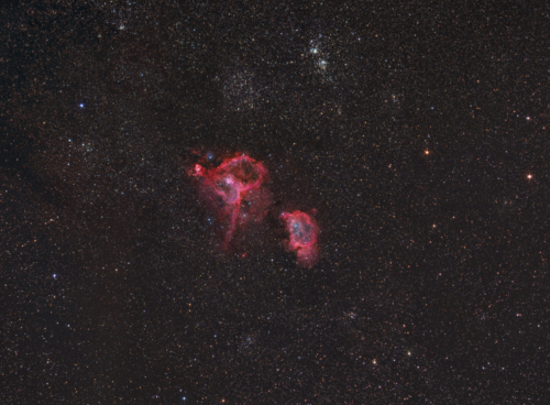IC 1805 - Widefield