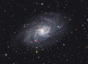 M 33 - Dreiecksgalaxie