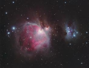 M 42 + NGC 1977