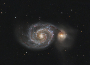M 51 - Strudelgalaxie