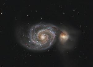 M 51 - Whirlpool - Galaxy