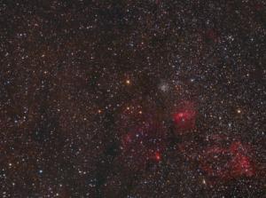 M 52 + NGC 7635 (2011/09)