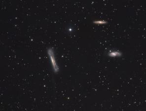 M 65 + M 66 + NGC 3628
