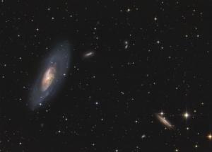 M 106 + NGC 4217