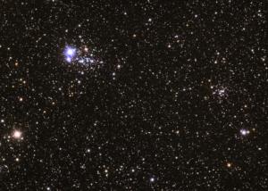 NGC 436 + NGC 457 (2007/08)