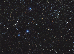 NGC 1528 + NGC 1545