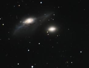 NGC 4435 + NGC 4438 (2009/04)