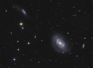 NGC 4725 + NGC 4747