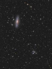NGC 7331 + Stephans Quintett